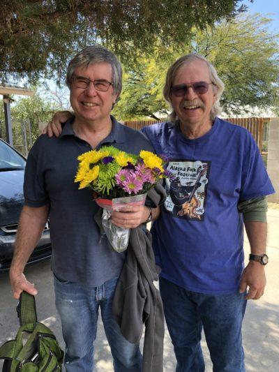 Crumbo and Bart in Tucson